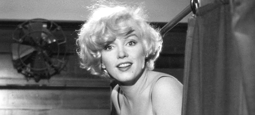 Marilyn Monroe in her classic role in Some Like it Hot, one of GAYOT's Top 10 Comedies