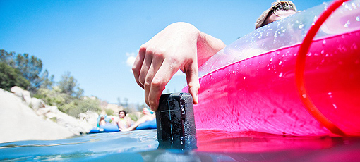 UE Boom2 is a water-resistant portable speaker that really makes a splash