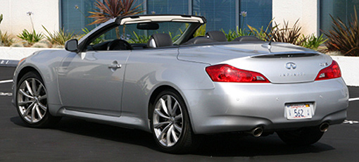 Find the best pre-owned cars including the Infiniti G37 Convertible, one of GAYOT's Top 10 Used Cars