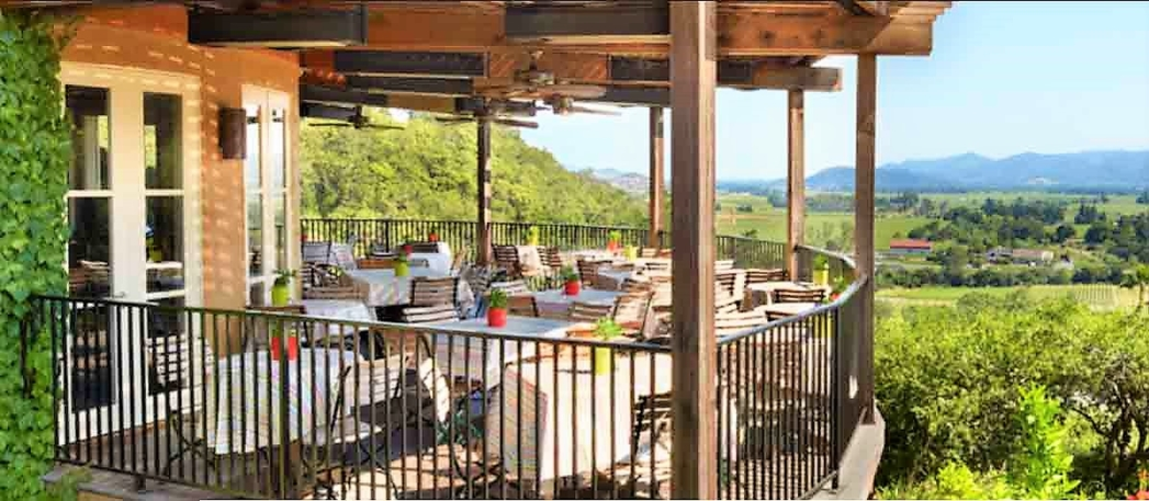 Auberge du Soleil, one of GAYOT's Best Outdoor Dining Restaurants in Napa Valley
