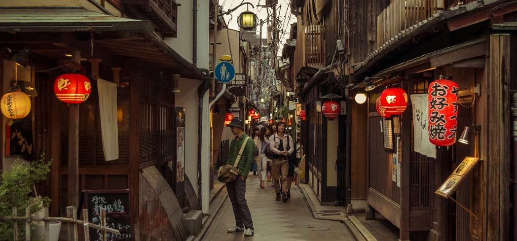 Pontocho Alley is a must-visit in Kyoto