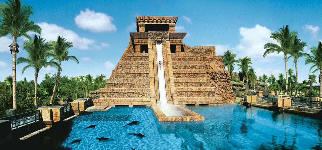 GAYOT has selected the best water slides at luxury resorts all over the U.S.