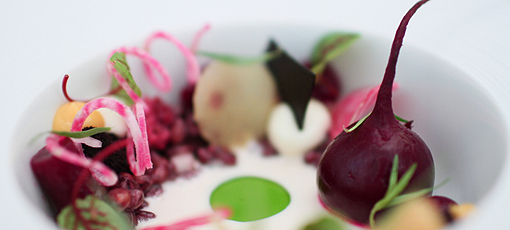 Beets from Grace, one of GAYOT's Top 40 Restaurants in the U.S.