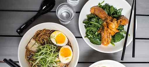 Enjoy great eats on a budget, including Ivan Ramen in NYC, one of GAYOT's Top 10 Cheap Eats in the US