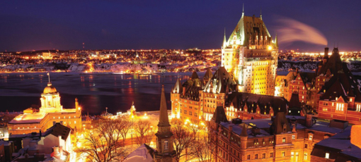 Whisk away to one of the most romantic destinations in the world including Old Quebec