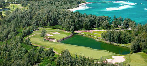 Hit the links at Turtle Bay Golf Course, one of GAYOT's Top 10 Golf Courses in Hawaii