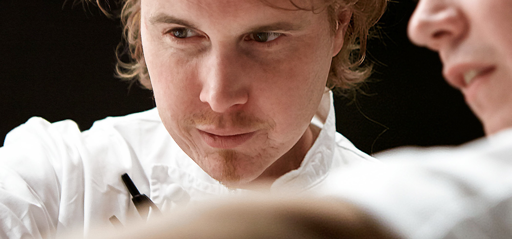 Alinea chef Grant Achatz - Photo by Christian Steel