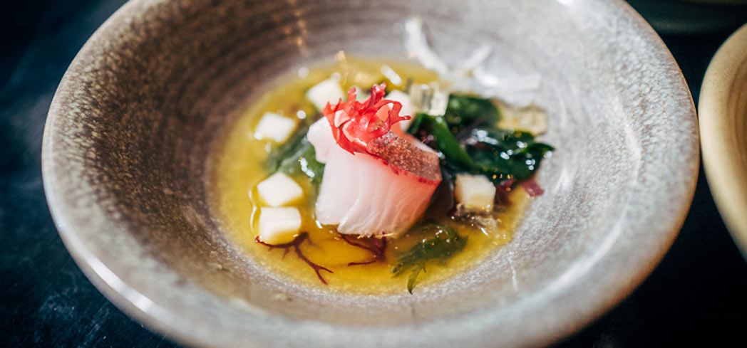 Hamachi at Shinmai in Oakland (photo credit: Jeremy Chiu)