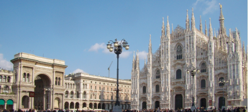 Piazza Duomo in Milan, Italy