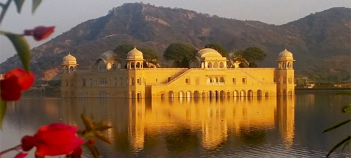 Jal Mahal, a palace in Jaipur, India