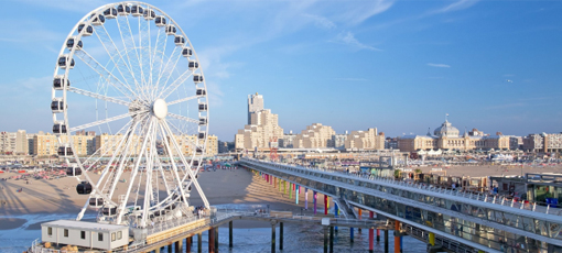 Europe's first Ferris Wheel built over sea in The Netherlands