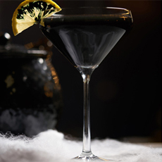 The Black Cauldron, one of GAYOT's Top 10 Spooky Cocktails