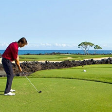 Hualalai Golf Course in Kailua-Kona is one of GAYOT's Top 10 Golf Courses in Hawaii