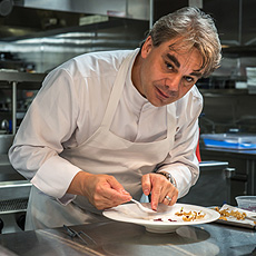 Chef Gabriel Kreuther - Photo by Paul Wagtouicz
