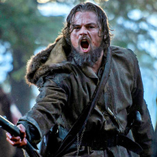 Leonardo DiCaprio in his award-winning role in The Revanant