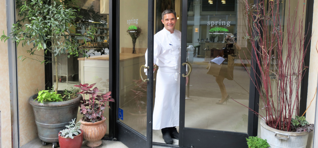 Tony Esnault's Spring restaurant is one of GAYOT's 2016 Best New Restaurants in the U.S.