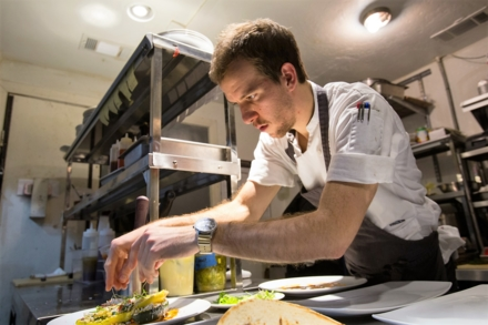 Helen Greek Food and Wine: chef William Wright (photo Shannon O'Hara)