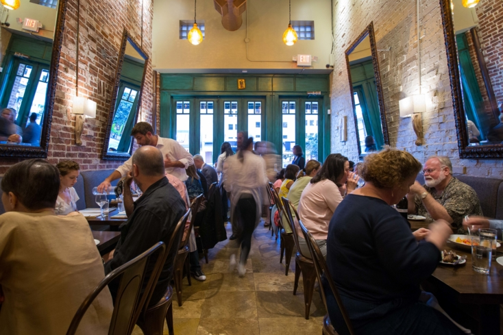 Helen Greek Food and Wine: Dining Room (photo Shannon O'Hara)