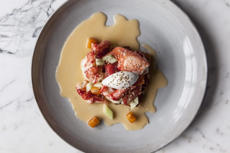 Kinship: Maine Lobster French Toast (Photo Jennifer Chase)