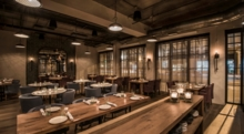 Monteverde, Chicago: Dining Room other side (Photo Anthony Tahlier Photography)
