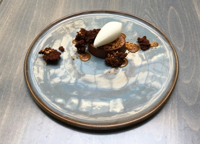 Chocolate Noisette dessert