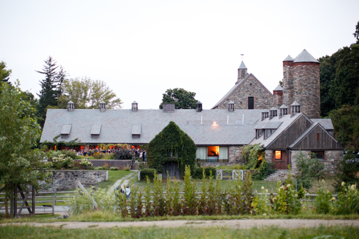 A working farm, education center, and bar and restaurant, Blue Hill at Stone Barns is truly unique