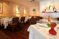 Dining room at Chef Mavro in Honolulu