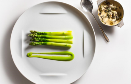 Jean-Georges New York: Asparagus