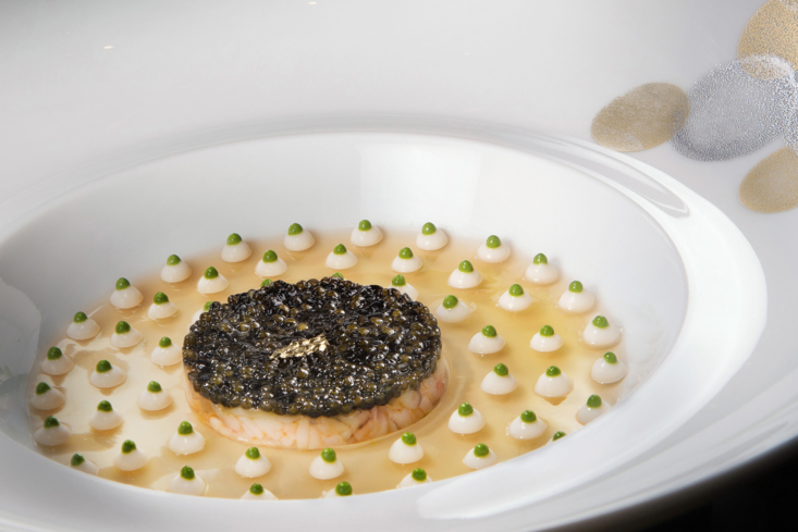 Joël Robuchon's art in a plate