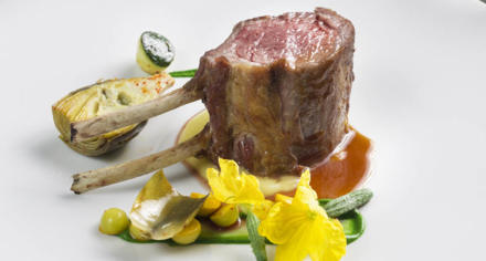 Le Cirque New York: Lamb
