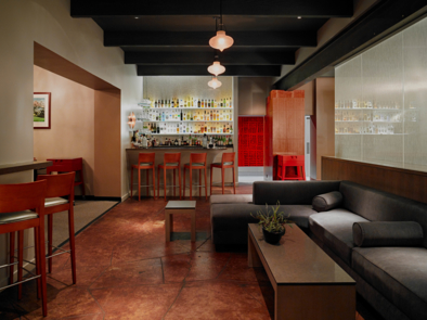 Manresa, Los Gatos, CA: Lounge (photo Nick Vasilopoulos)