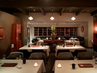 Manresa, Los Gatos, CA: Main Dining Room (photo Nick Vasilopoulos)