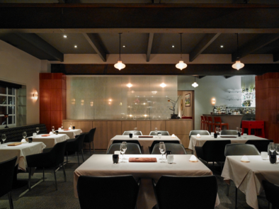 Manresa, Los Gatos, CA: Tables (photo Nick Vasilopoulos)