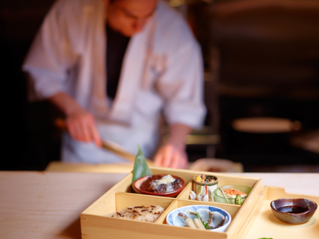 NAOE, Miami Beach: Bento Box Display (photo Jeffery Salter)