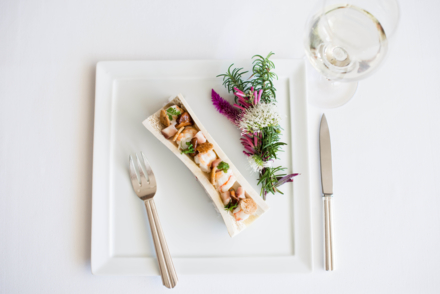 Patina: Langoustine Bone Marrow