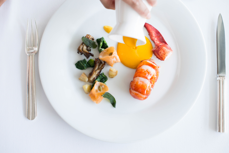 Patina: Poached Maine Lobster