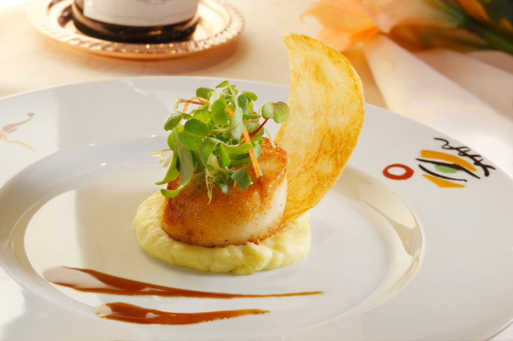 Picasso: Pan-Seared Scallop