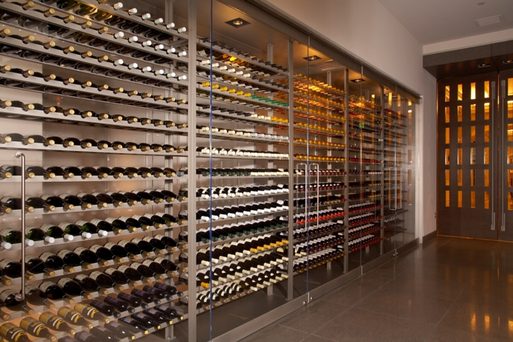 Restaurant Guy Savoy Las Vegas: Wine Wall