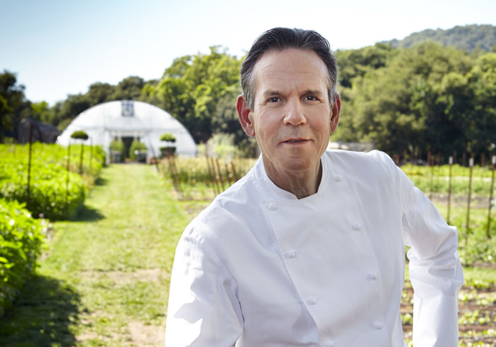 The French Laundry: chef Thomas Keller (photo Deborah Jones)