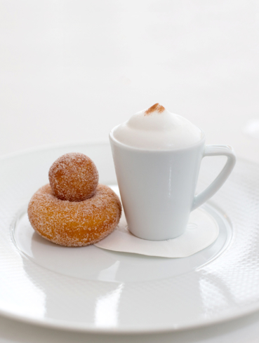 The French Laundry: Coffee and Doughnuts (photo Deborah Jones)