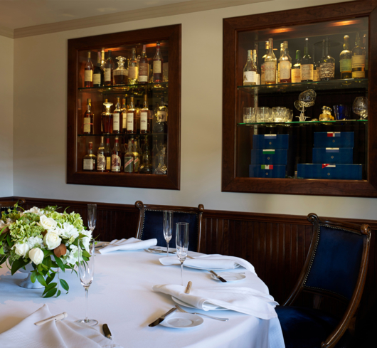 The French Laundry: Dining Room (photo Deborah Jones)