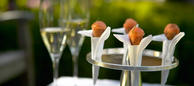 The French Laundry: Salmon Cornets (photo Deborah Jones)