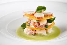 The Inn at Little Washington: Lobster Napoleon