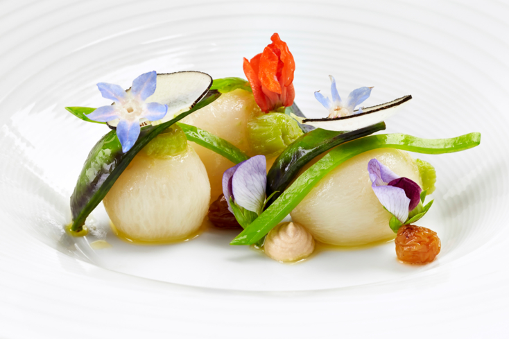 The Inn at Little Washington: Tokyo Turnips