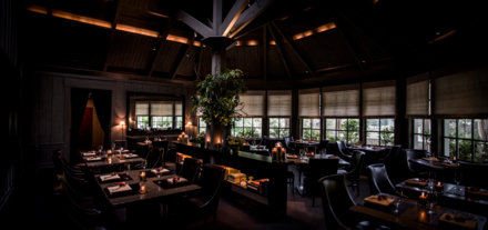 The Restaurant at Meadowood: Dining Room