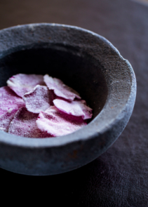 The Restaurant at Meadowood: Yogurt Cultured with Rose