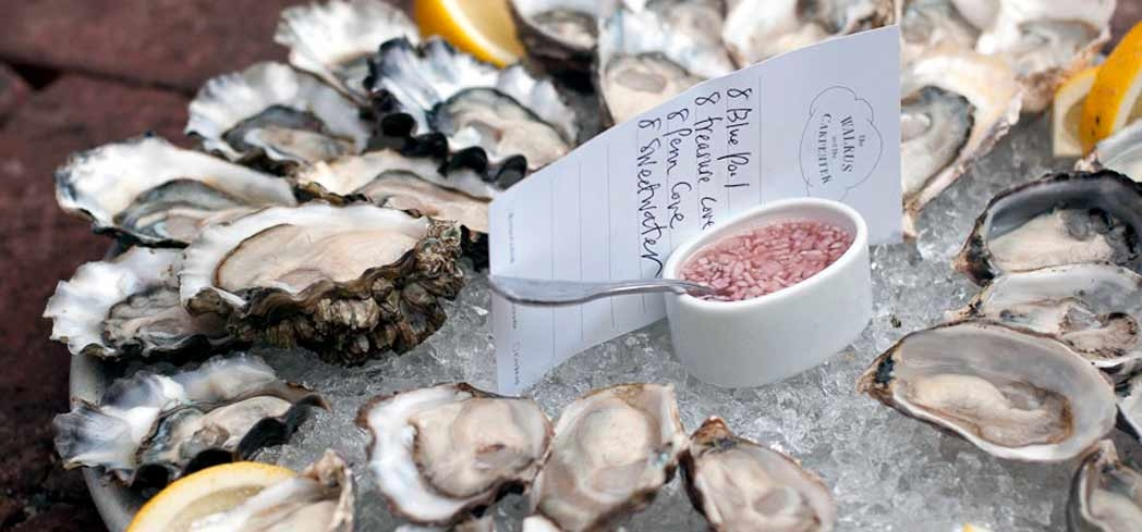 Oysters | The Walrus and The Carpenter restaurant, Chef Renee Erickson, Seattle