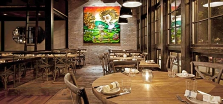 Dining room | Chef Stephanie Izard, Girl & The Goat restaurant, Chicago
