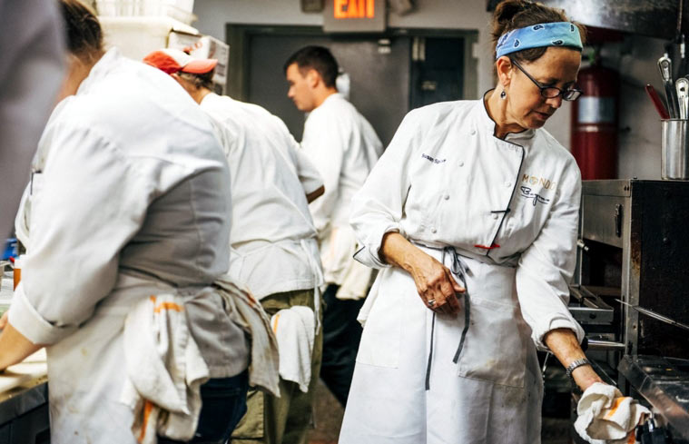 Chef Susan Spicer of Bayona in New Orleans, LA