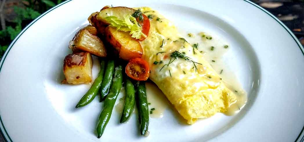 Omelet | Bayona restaurant, Chef Susan Spicer, New Orleans